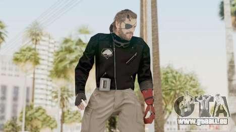 MGSV Phantom Pain Venom Snake Leather Jacket für GTA San Andreas