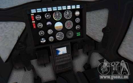 GTA 5 Buckingham Volatus v1 IVF für GTA San Andreas Seitenansicht