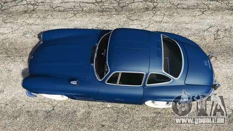 GTA 5 Mercedes-Benz 300SL Gullwing 1955 vue arrière