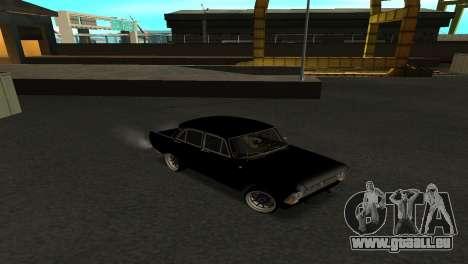Moskvitch 412 pour GTA San Andreas vue de droite