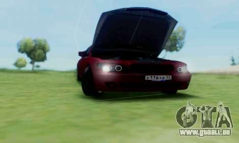 BMW 760i pour GTA San Andreas vue intérieure