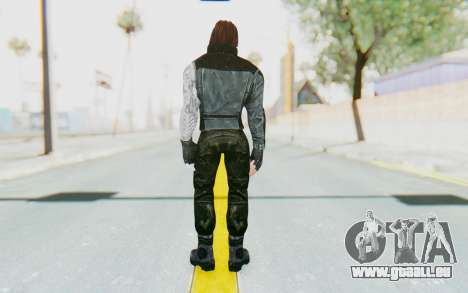 Bucky Barnes (Winter Soldier) v1 für GTA San Andreas dritten Screenshot