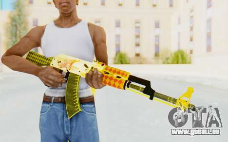 CS:GO - AK-47 Dragon Lore für GTA San Andreas dritten Screenshot