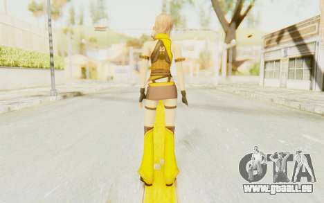 Final Fantasy XIII - Lightning Electronica pour GTA San Andreas troisième écran