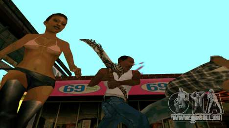 Prince Of Persia Water Sword für GTA San Andreas her Screenshot
