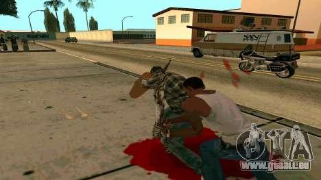 Prince Of Persia Water Sword für GTA San Andreas sechsten Screenshot