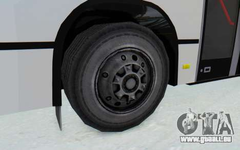 Pylife Bus für GTA San Andreas Rückansicht