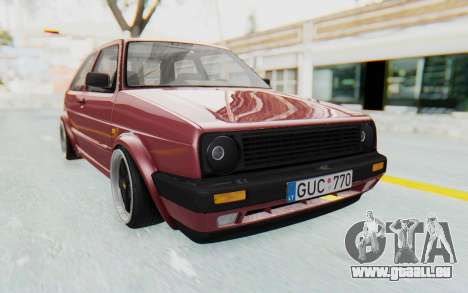 Volkswagen Golf Mk2 pour GTA San Andreas