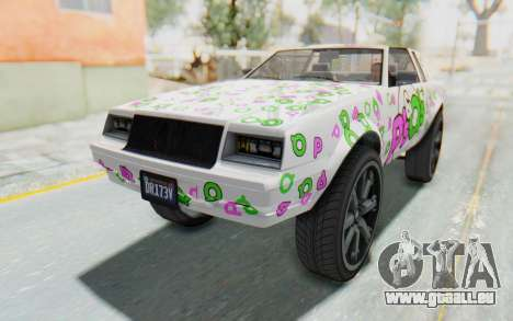GTA 5 Willard Faction Custom Donk v1 IVF pour GTA San Andreas moteur