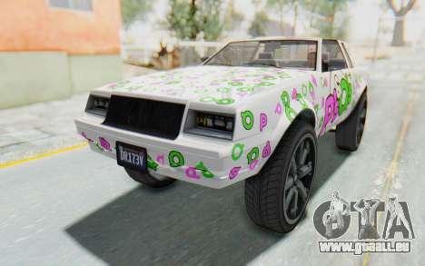 GTA 5 Willard Faction Custom Donk v1 IVF pour GTA San Andreas moteur