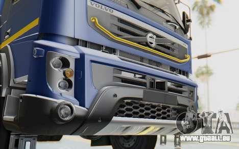 Volvo FMX 6x4 Dumper v1.0 Color für GTA San Andreas Seitenansicht