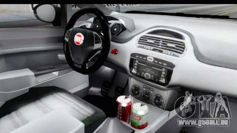 Fiat Linea 2014 für GTA San Andreas Innenansicht