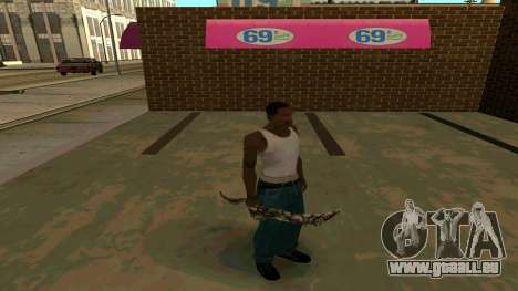 Prince Of Persia Water Sword für GTA San Andreas siebten Screenshot