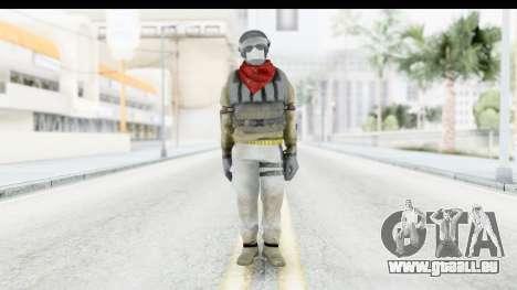 The Division Last Man Battalion - Support für GTA San Andreas zweiten Screenshot
