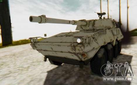 MGSV Phantom Pain STOUT IFV APC Tank v1 pour GTA San Andreas