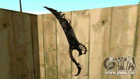 Prince Of Persia Water Sword für GTA San Andreas