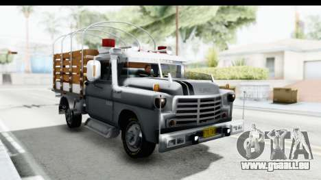 GMC 3100 Diesel pour GTA San Andreas vue de droite