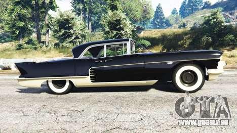 GTA 5 Cadillac Eldorado Brougham 1957 v1.1 linke Seitenansicht