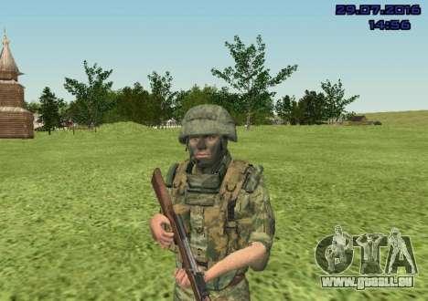 Marine-Corps-Kämpfer für GTA San Andreas dritten Screenshot