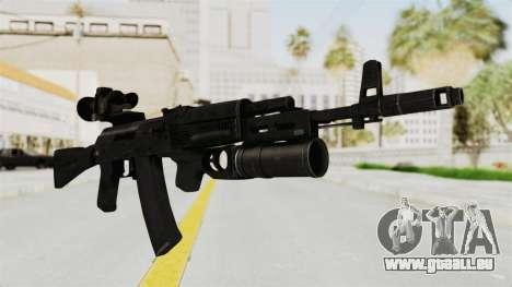 AK-74M v3 für GTA San Andreas