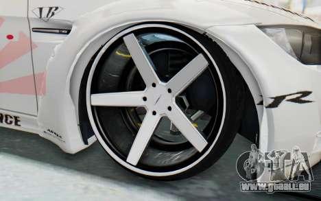 BMW M3 E92 Liberty Walk LB Performance pour GTA San Andreas vue arrière