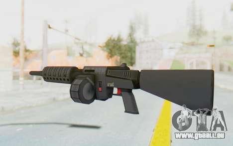 APB Reloaded - NFAS-12 pour GTA San Andreas deuxième écran