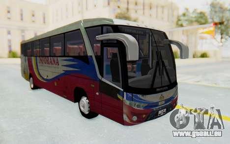 Marcopolo Inforana Bus pour GTA San Andreas vue de droite