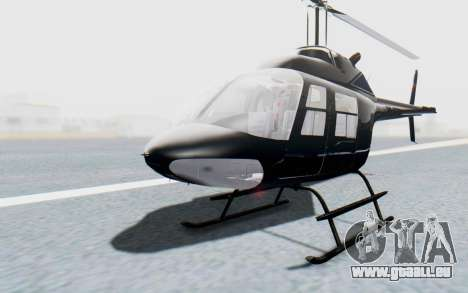 Bell 206B-III Jet Ranger Policja für GTA San Andreas