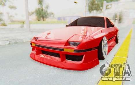 Mazda RX-7 FC3S BN Sport pour GTA San Andreas sur la vue arrière gauche