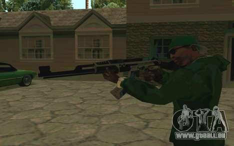 AK-47 Vulcan (SA) für GTA San Andreas dritten Screenshot