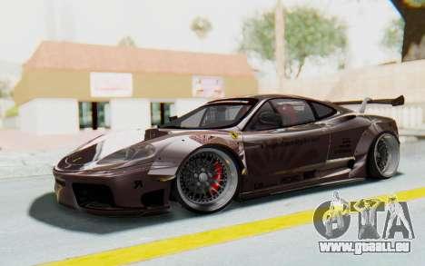 Ferrari 360 Modena Liberty Walk LB Perfomance v1 für GTA San Andreas