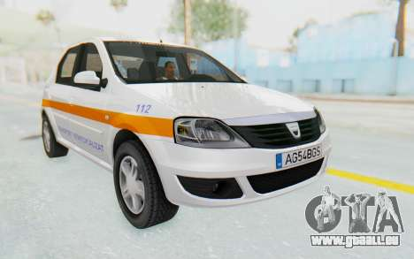 Dacia Logan Facelift Ambulanta für GTA San Andreas