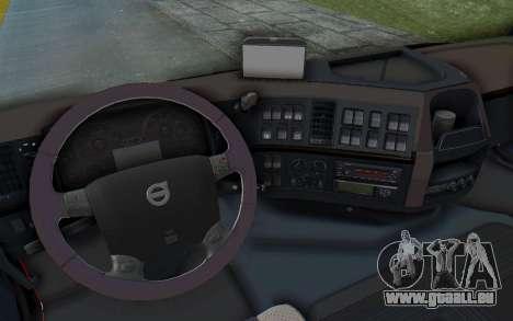 Volvo FMX 6x4 Dumper v1.0 für GTA San Andreas obere Ansicht