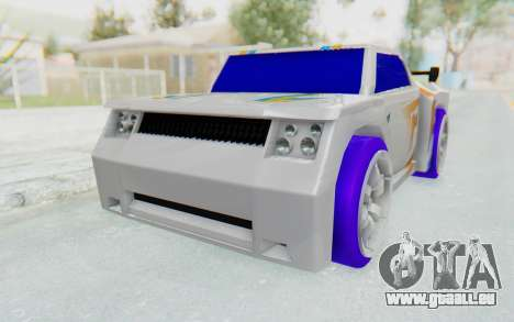 Hot Wheels AcceleRacers 3 für GTA San Andreas rechten Ansicht