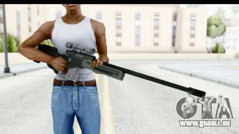 GTA 5 Shrewsbury Sniper Rifle für GTA San Andreas dritten Screenshot