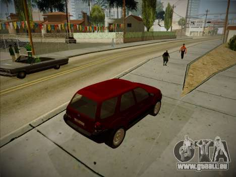 Ford Escape 2005 pour GTA San Andreas vue de droite