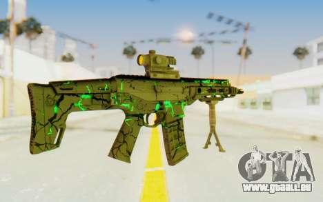 ACR CQB Magma Green für GTA San Andreas dritten Screenshot