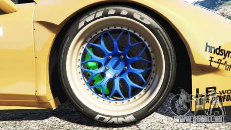GTA 5 Ferrari 458 Spider [Liberty Walk] hinten rechts
