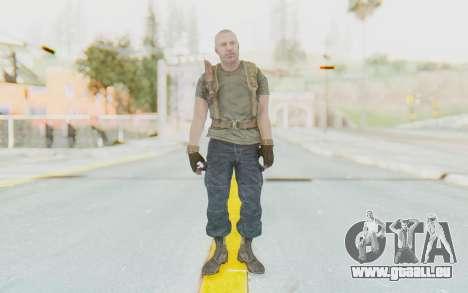 COD BO Hudson Ubase pour GTA San Andreas deuxième écran