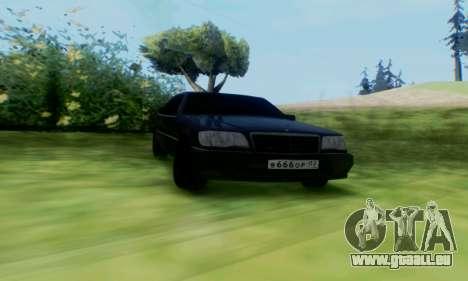 Mercedes-Benz MB W140 1999 pour GTA San Andreas laissé vue