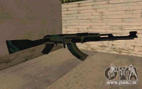AK-47 Vulcan (SA) für GTA San Andreas