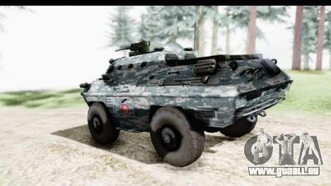 BOV 86M Žandarmerija pour GTA San Andreas laissé vue
