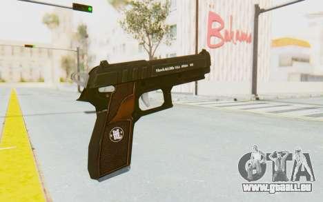 GTA 5 Hawk & Little Pistol für GTA San Andreas dritten Screenshot