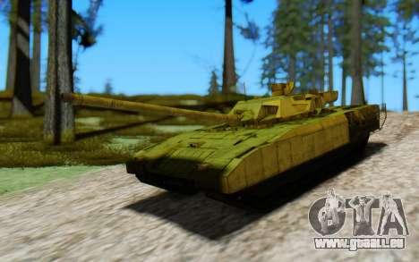 T-14 Armata Green pour GTA San Andreas vue de droite