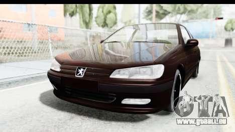 Peugeot 406 Coupe pour GTA San Andreas sur la vue arrière gauche