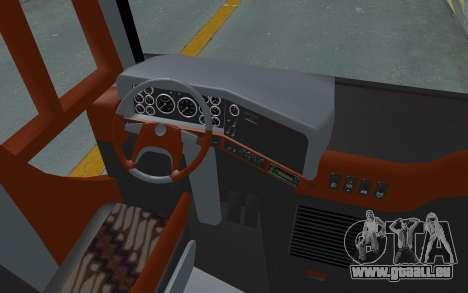Hino Evo-C Transjakarta Feeder Bus für GTA San Andreas Rückansicht