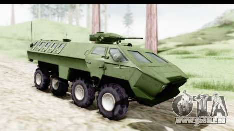 Lazar Serbian Armored Vehicle für GTA San Andreas