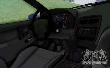 Nissan 300ZX Monster Truck pour GTA San Andreas vue intérieure