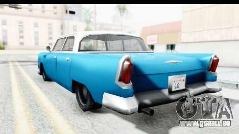 Cabbie Oceanic pour GTA San Andreas laissé vue