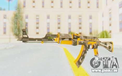 CS:GO - AK-47 Vanquish pour GTA San Andreas deuxième écran